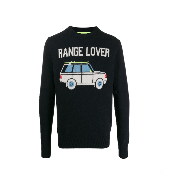 Mc2 Saint Barth - Maglie - MAGLIONE BLU RANGE LOVER