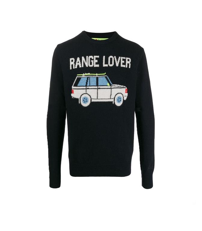 Mc2 Saint Barth - Maglie - maglione blu range lover