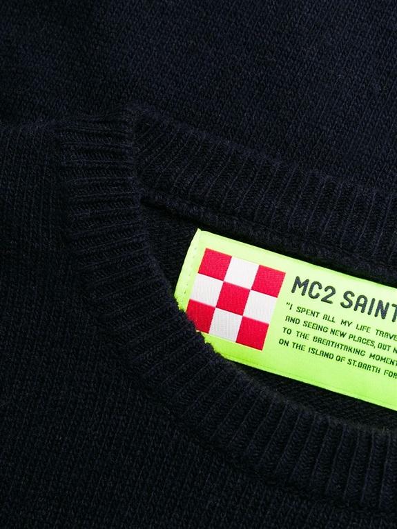 Mc2 Saint Barth - Maglie - maglione blu range lover 1
