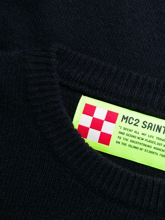 Mc2 Saint Barth - Maglie - maglione blu range lover 1