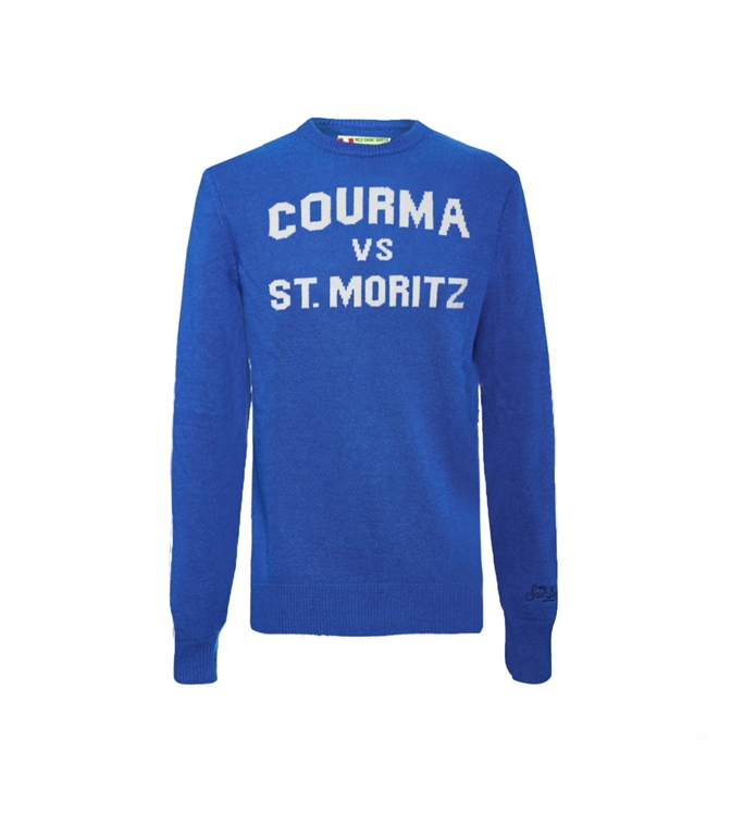 Mc2 Saint Barth - Maglie - MAGLIONE BLUETTE COURMA VS ST. MORITZ