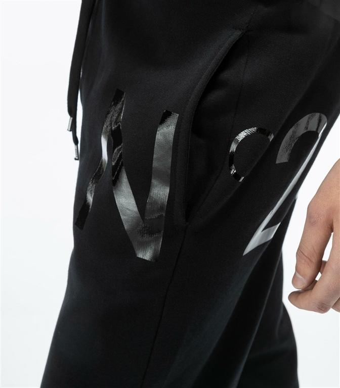 N°21 - Pantaloni - pantaloni sportivi con logo black 1
