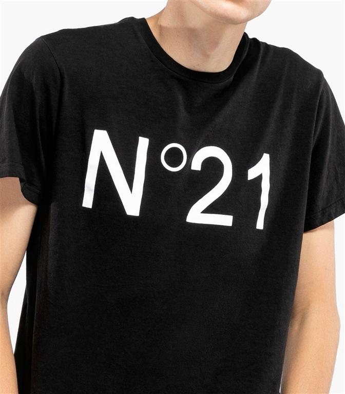 N°21 - T-Shirt - t-shirt con logo black 1
