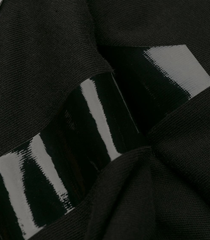 N°21 - T-Shirt - t-shirt con logo lucido black 1