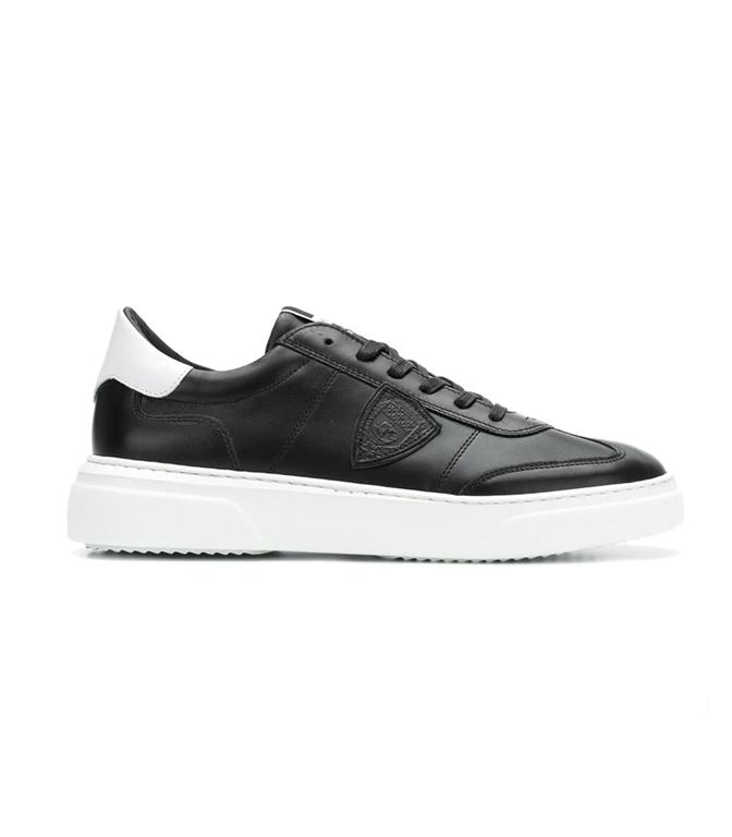 Philippe Model Paris - Scarpe - Sneakers - TEMPLE - VEAU NOIR BLANC