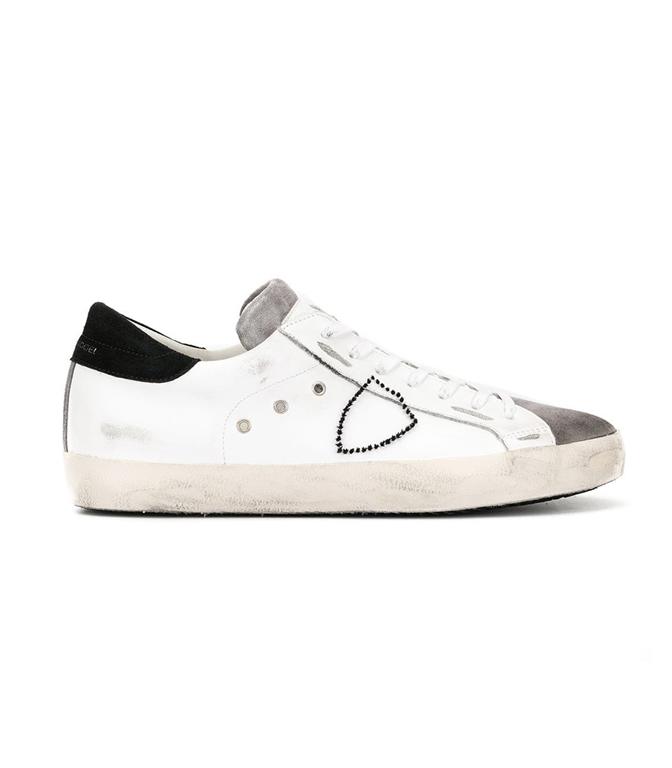 Philippe Model - Scarpe - Sneakers - paris - mixage blanc antracite