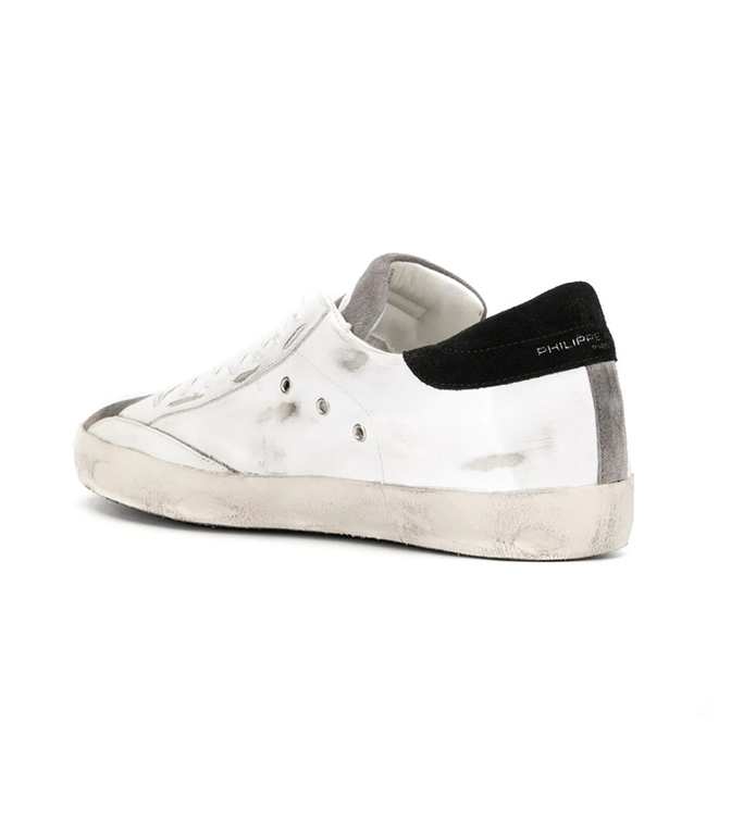 Philippe Model - Scarpe - Sneakers - paris - mixage blanc antracite 1