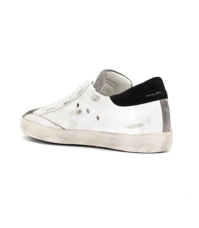 Philippe Model Paris - Scarpe - Sneakers - paris - mixage blanc antracite 1