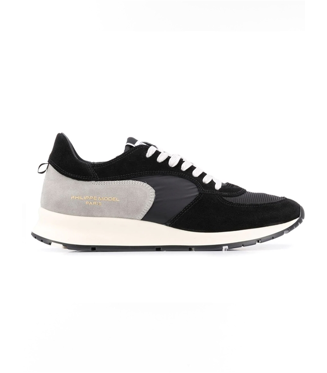 Philippe Model Paris - Scarpe - Sneakers - montecarlo - mondial noir gris