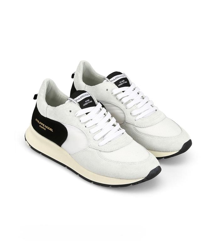 Philippe Model Paris - Scarpe - Sneakers - montecarlo - mondial blanc noir 1