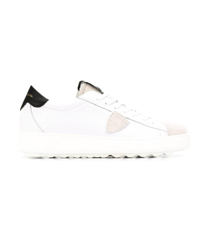 Philippe Model Paris - Scarpe - Sneakers - MADELEINE - BLANC GRIS NOIR