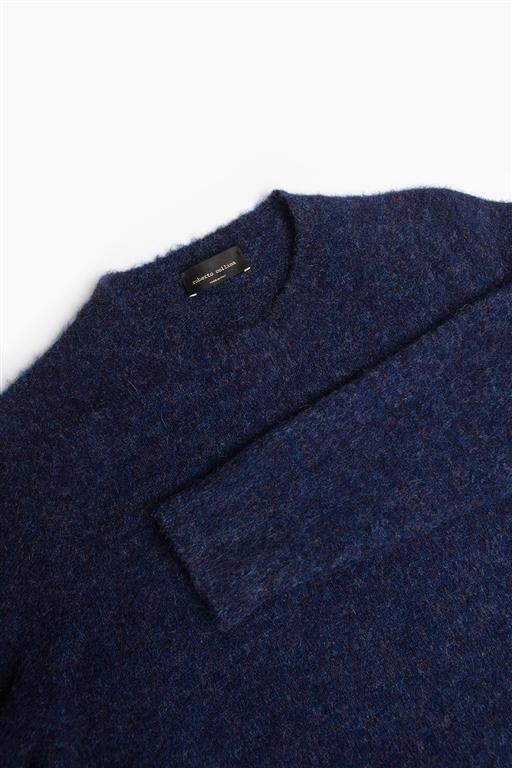 Roberto Collina - Maglie - brushed sweater viola 1