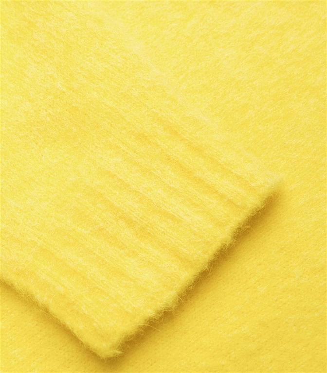 Roberto Collina - Maglie - brushed sweater giallo 1