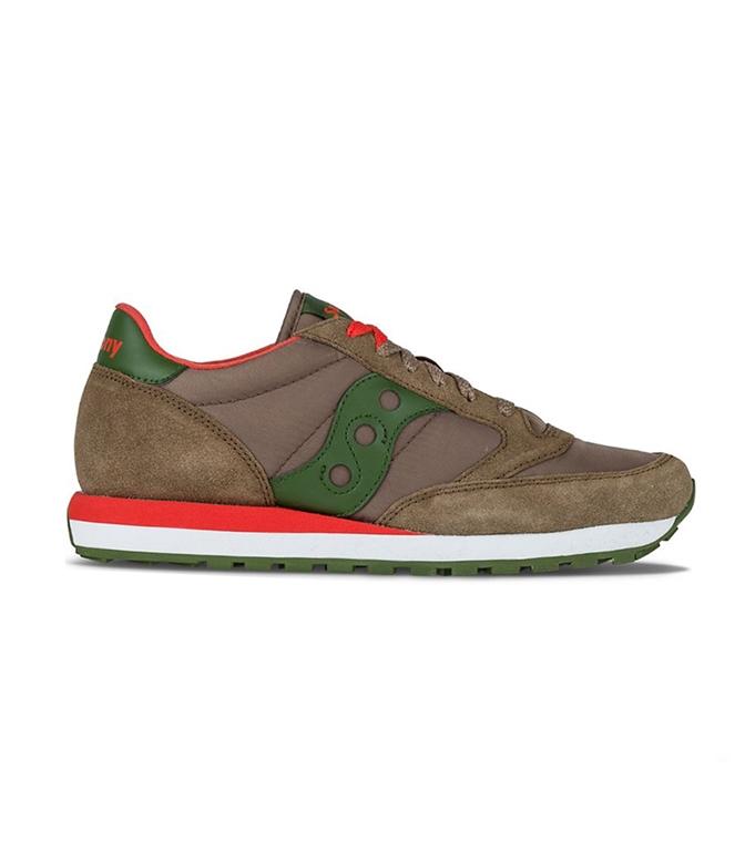 Saucony - Scarpe - Sneakers - SNEAKERS JAZZ O' LIGHT BROWN/ GREEN