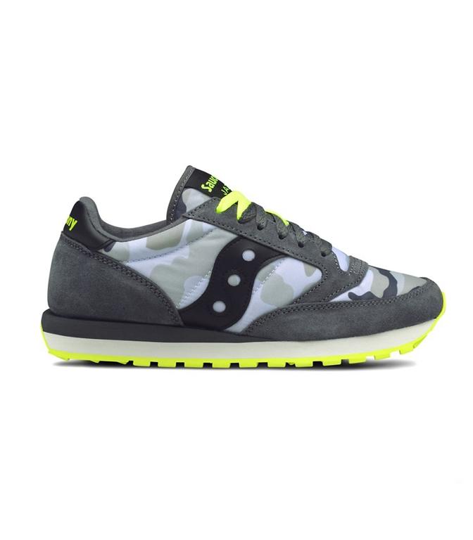Saucony - Scarpe - Sneakers - SNEAKERS JAZZ O' GREY CAMO/YELLOW