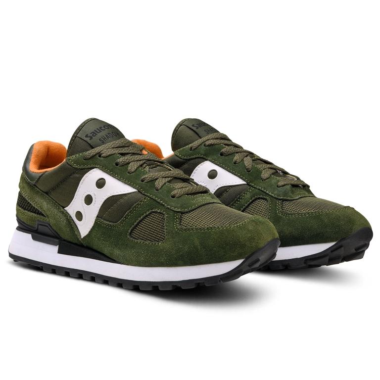Saucony - Scarpe - Sneakers - sneakers shadow o' dark green/white 2