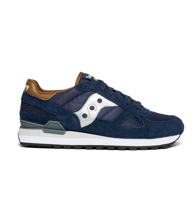 Saucony - Scarpe - Sneakers - SNEAKERS SHADOW O' NAVY/BROWN