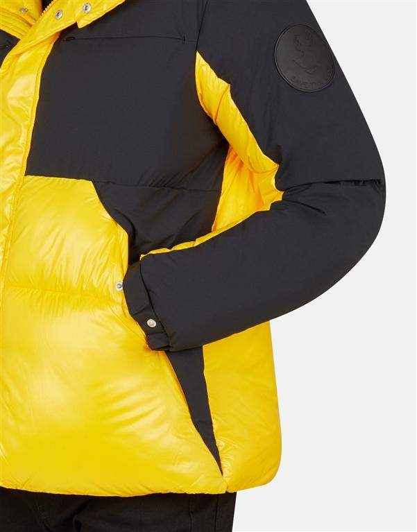 Save The Duck - Giubbotti - d3790u luma9 chrome yellow 2