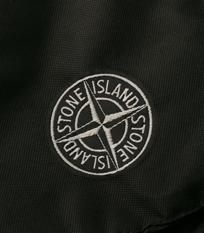 Stone Island - Giubbotti - garment dyed crinkle reps ny down nero 1