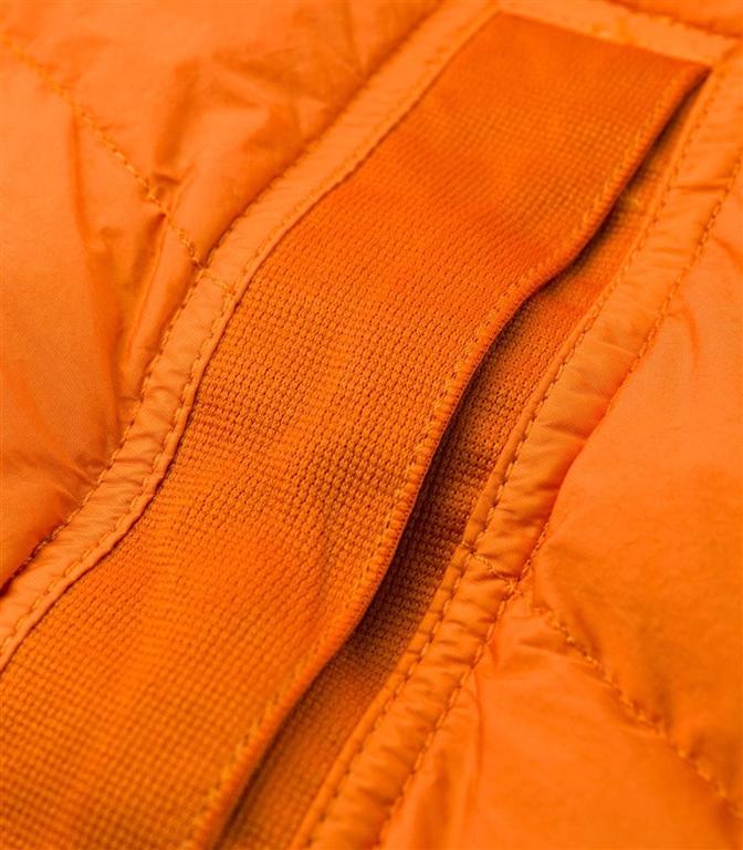 Stone Island - Giubbotti - garment dyed crinkle reps ny down arancio 1