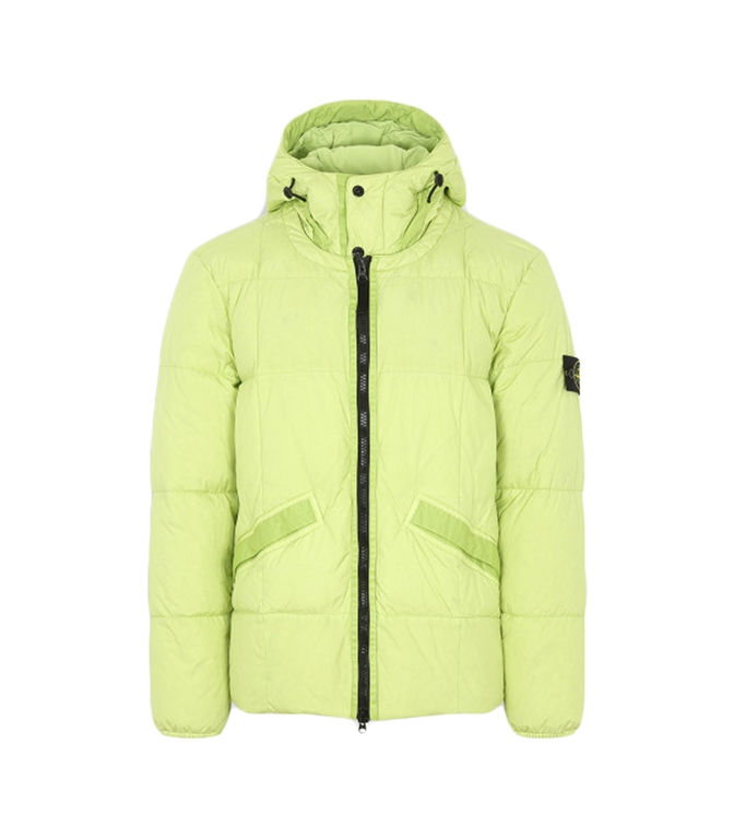 Stone Island - Giubbotti - GARMENT DYED CRINKLE REPS NY DOWN PISTACCHIO