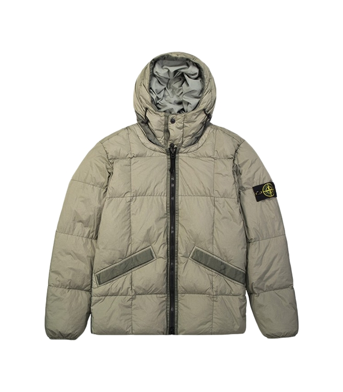 Stone Island - Giubbotti - GARMENT DYED CRINKLE REPS NY DOWN FANGO