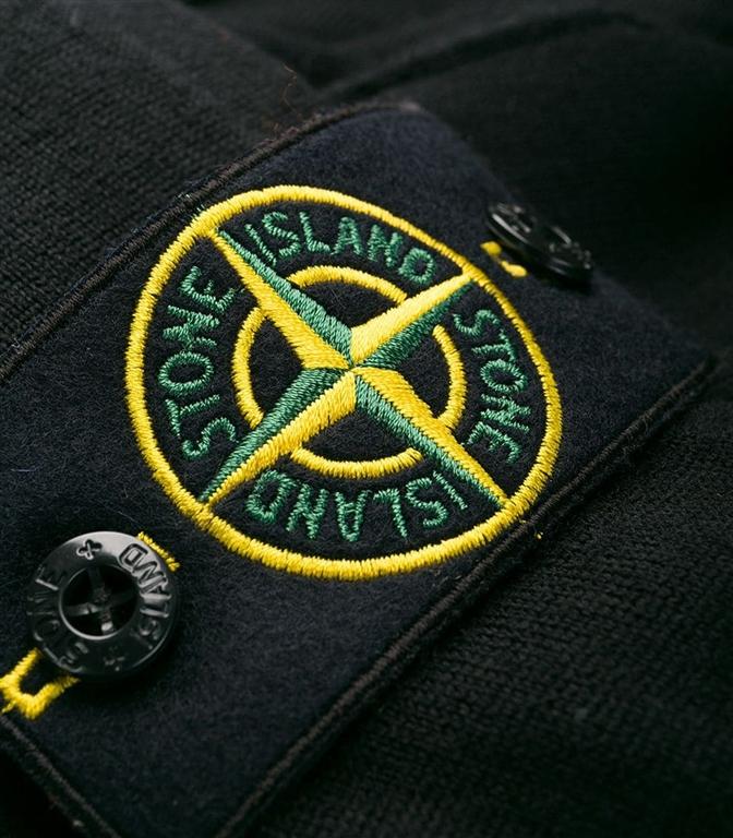 Stone Island - Maglie - maglia in lana leggera nera 1