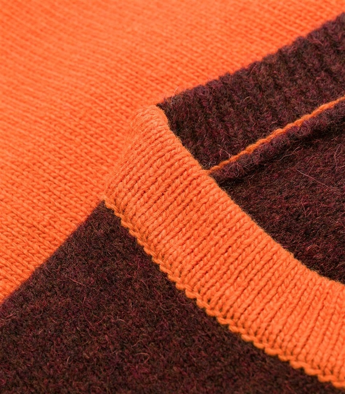 Stone Island - Maglie - maglia girocollo arancio 1