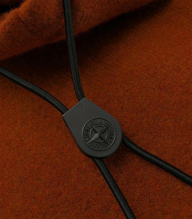 Stone Island - Maglie - maglia con cappuccio arancio 1