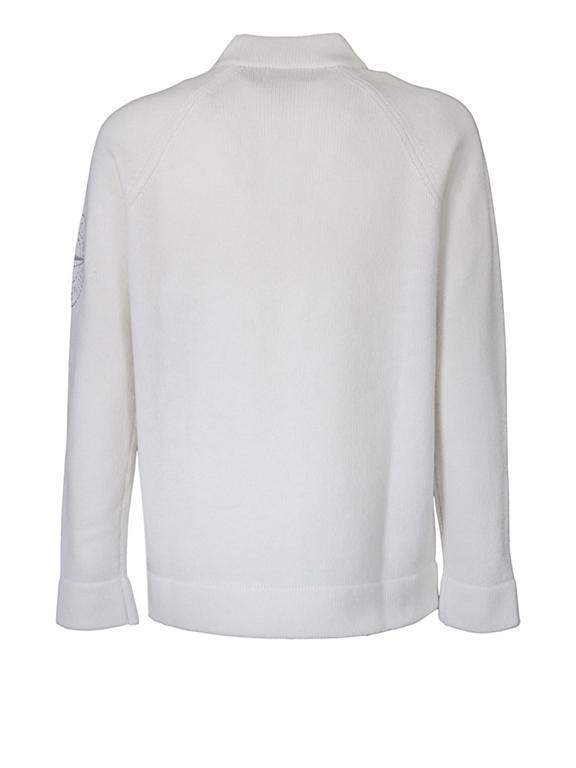 Stone Island - Maglie - maglia girocollo bianca 1