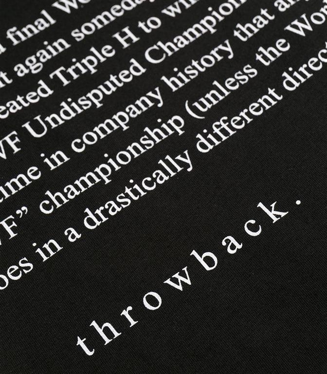 Throwback - T-Shirt - t-shirt hulk black 1
