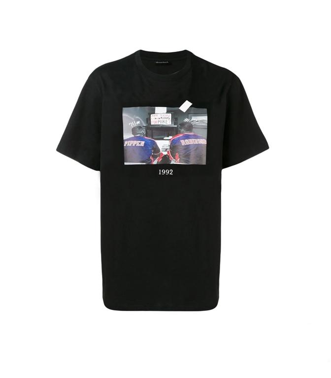 Throwback - T-Shirt - t-shirt scottie black