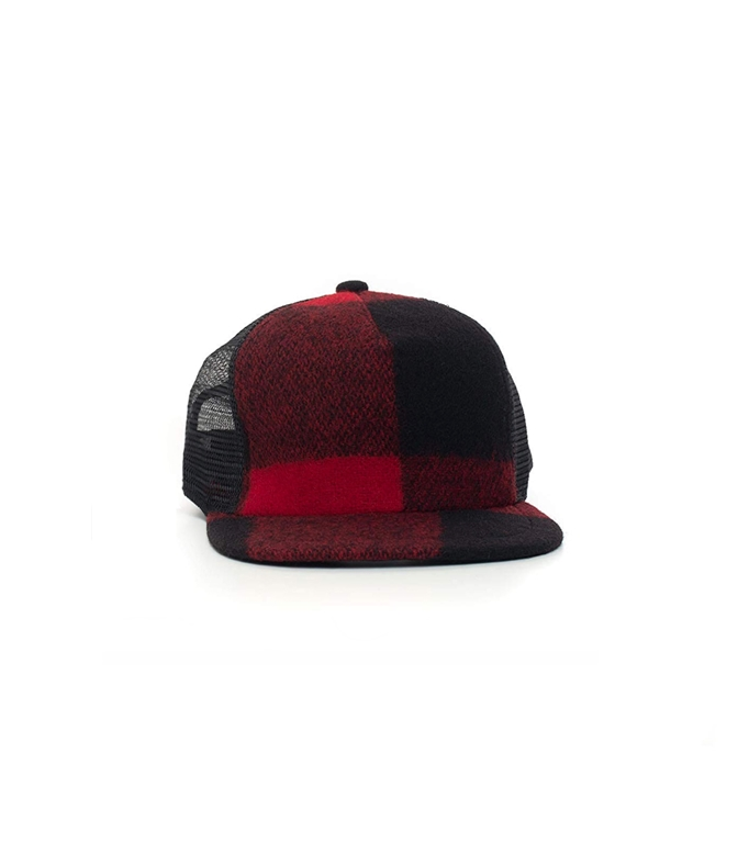 Woolrich - Cappelli - baseball cap red buffalo