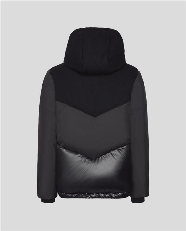 Woolrich - Giubbotti - intarsia mountain jacket black 1