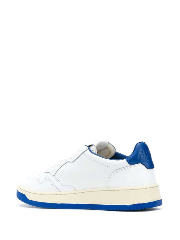 Autry - Scarpe - Sneakers - low bicolor leat bianca-blu 2