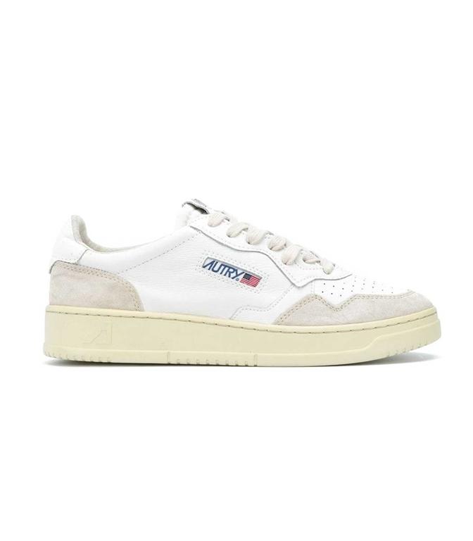 Autry - Scarpe - Sneakers - LOW LEAT SUEDE BIANCA