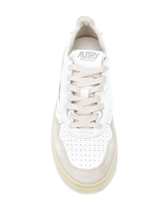 Autry - Scarpe - Sneakers - low leat suede bianca 1