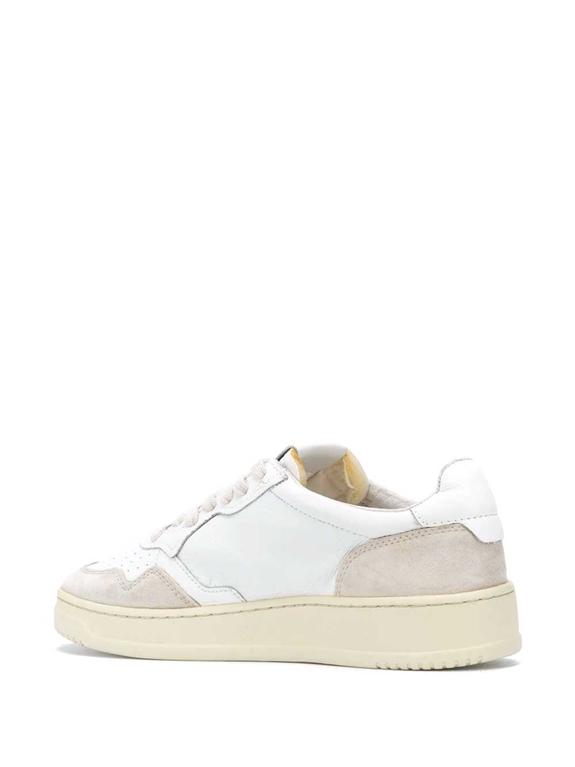 Autry - Scarpe - Sneakers - low leat suede bianca 2