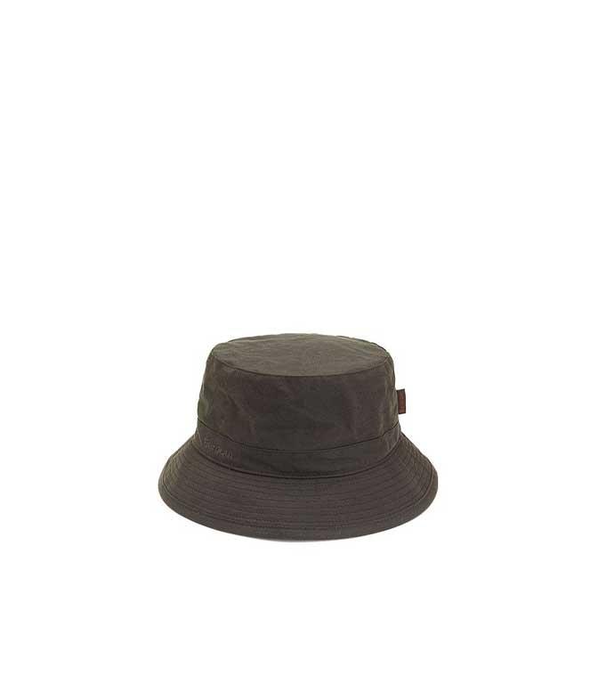 Barbour - Cappelli - CAPPELLO SPORTIVO IN CERA OLIVE