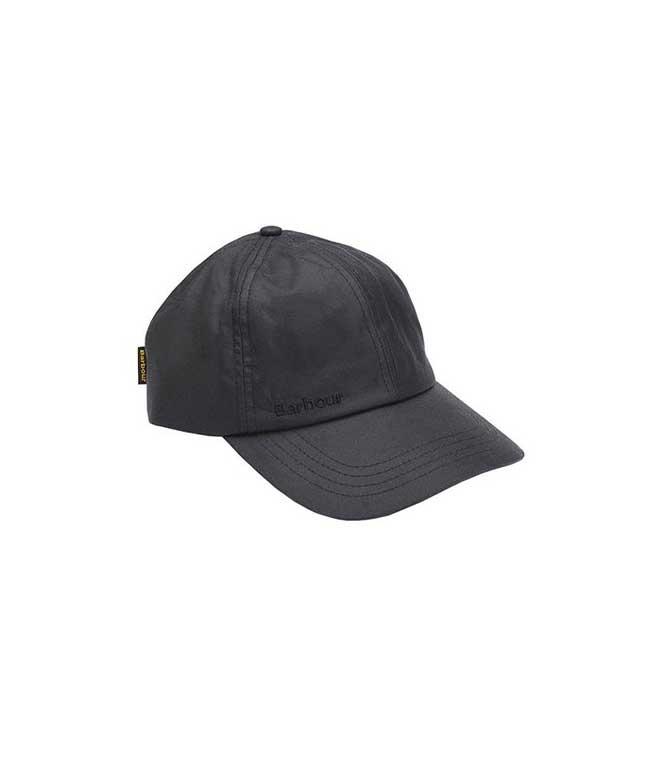 Barbour - Cappelli - cappello sportivo wax nero