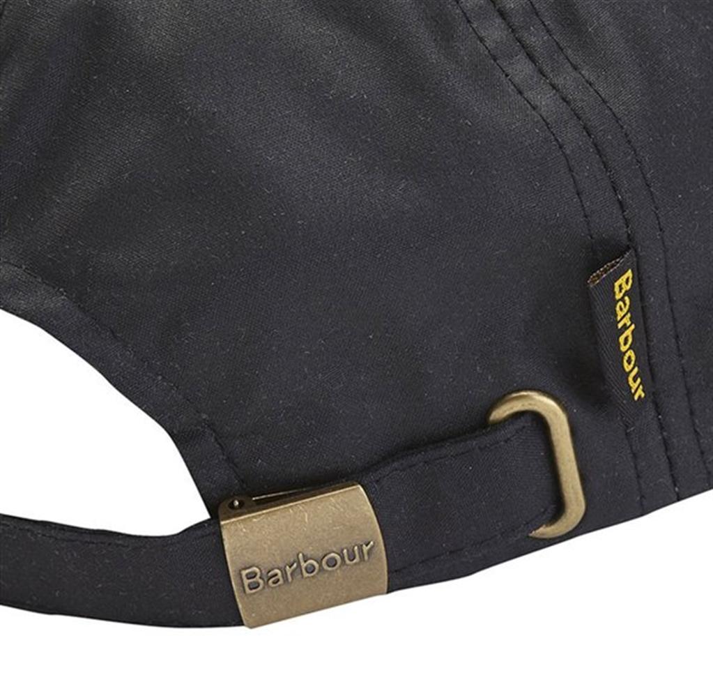 Barbour - Cappelli - cappello sportivo wax nero 1