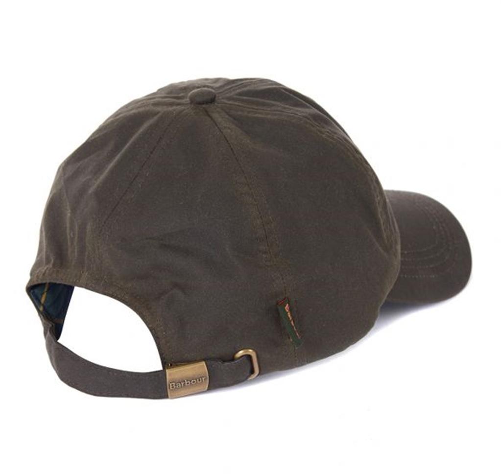 Barbour - Cappelli - cappello sportivo wax olive 1