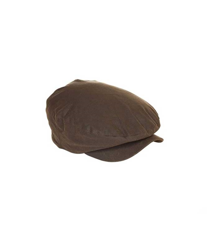 Barbour - Cappelli - cappello cheviot wax olive