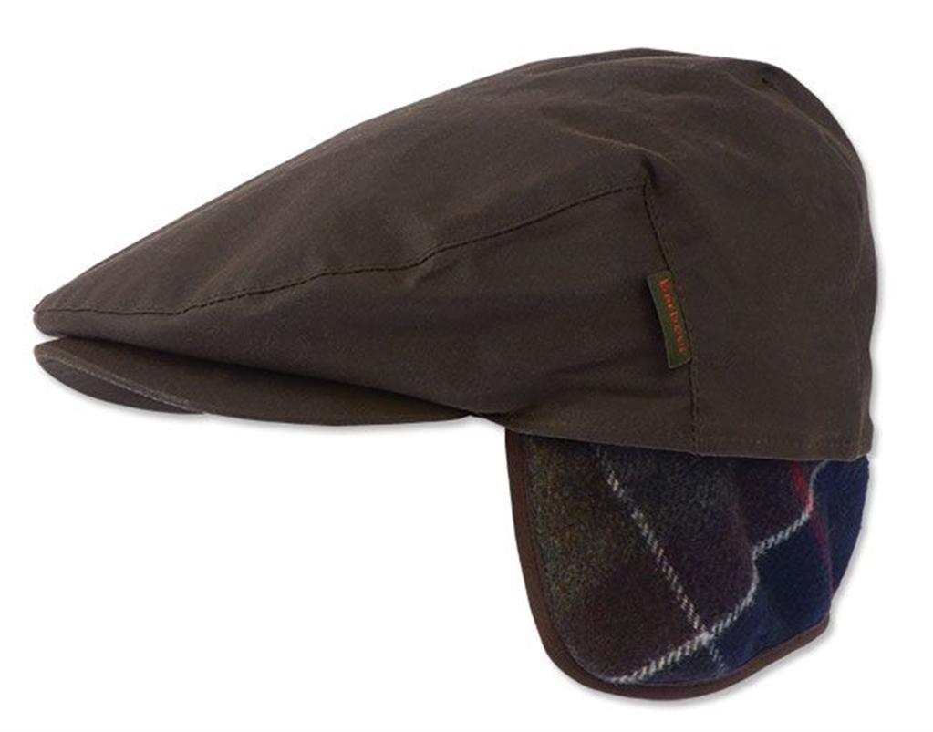 Barbour - Cappelli - cappello cheviot wax olive 1