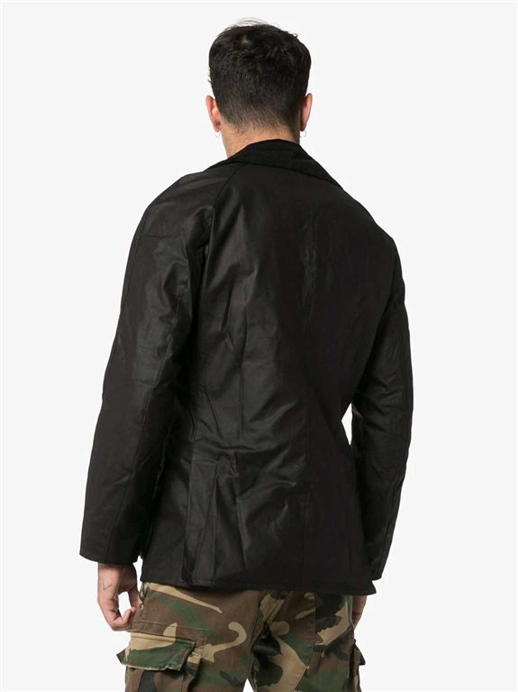 Barbour - Giubbotti - giacca ashby nera 1