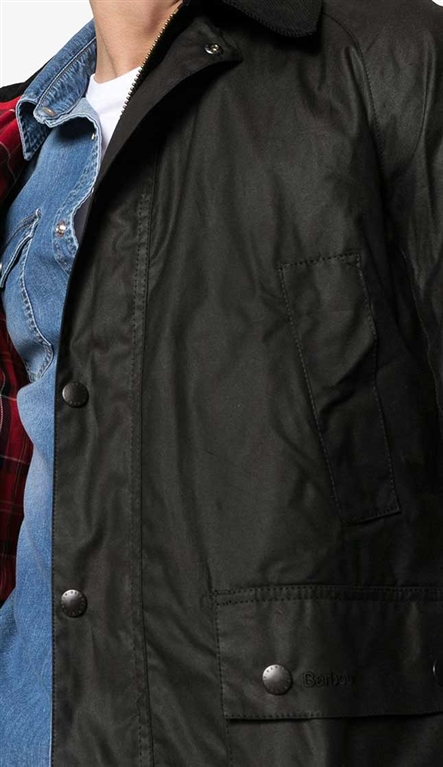 Barbour - Giubbotti - giacca ashby nera 2