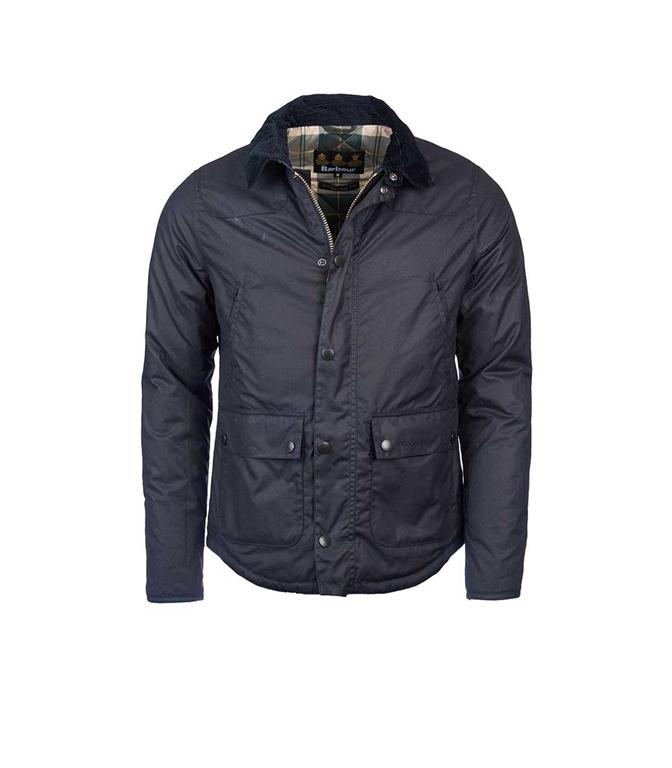 Barbour - Giubbotti - giacca reelin blu navy