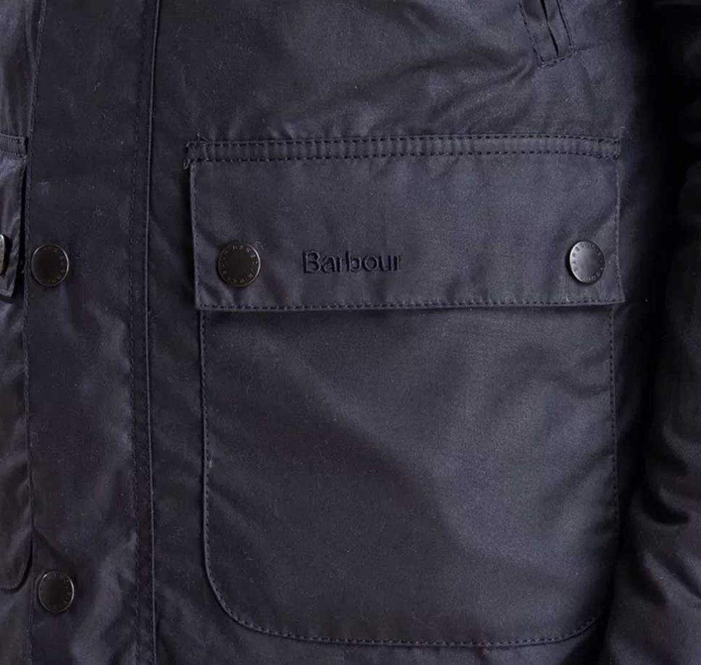 Barbour - Giubbotti - giacca reelin blu navy 2