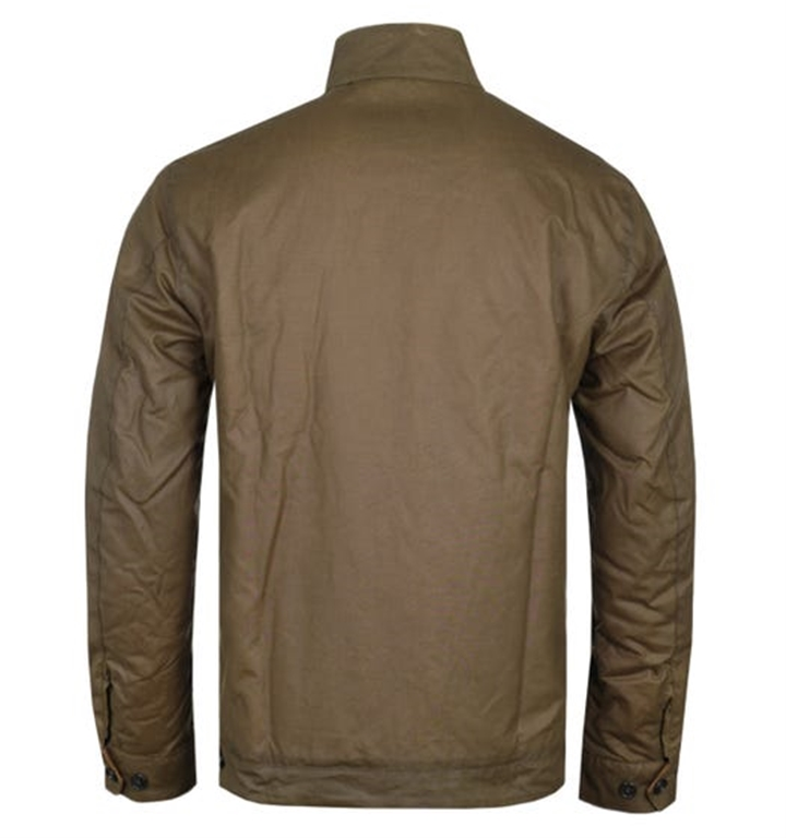 Barbour - Giubbotti - giacca weldon wax marrone 1