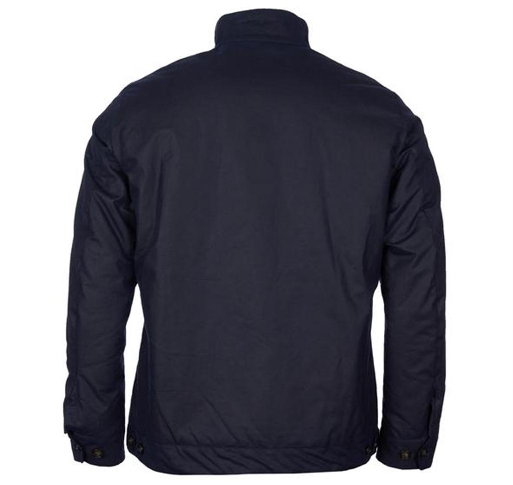 Barbour - Giubbotti - giacca weldon wax blu navy 1